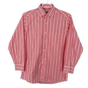 Alex Cannon red/ white checked shirt 15.5 …